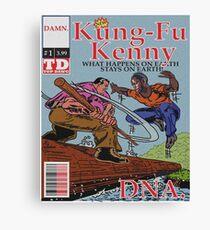 Kendrick Lamar - DNA Alternative Cover Canvas Print