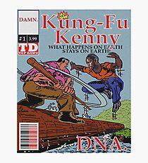 Kendrick Lamar - DNA Alternative Cover Photographic Print