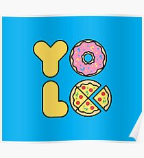 YOLO You Only Lift Once Poster