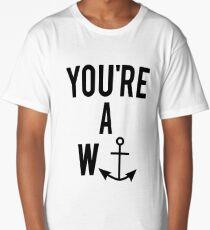 YOU'RE A WANKER Long T-Shirt