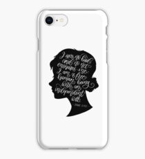 Jane Eyre Quote - Charlotte Bronte iPhone Case/Skin