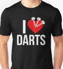 I LOVE DARTS Unisex T-Shirt