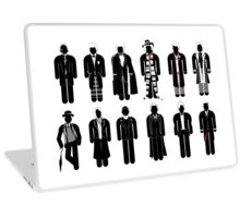 Doctor Who - Timelord Recognition guide - laptop Laptop Skin