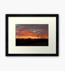 Thorpe Sunset Framed Print