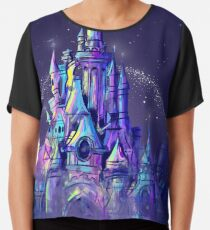 Magic Princess Fairytale Castle Kingdom Chiffon Top