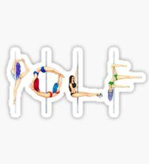 Polephabet POLE Sticker
