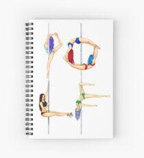 Polephabet POLE Spiral Notebook