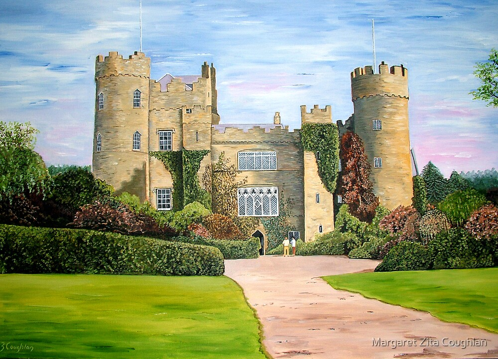Malahide Castle, Co. Dublin by Margaret Zita Coughlan
