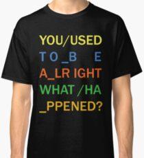 RADIOHEAD - IN RAINBOWS Classic T-Shirt