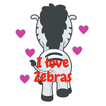 I love zebras by mabrouka