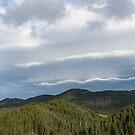 Clouds Echoing Mountains by Georgia Mizuleva