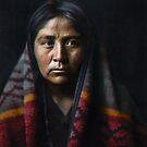 Navaho matron, ca. 1904 by Marina Amaral