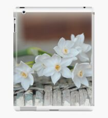 Old Fashioned Paperwhites on Antique Rocking Chair iPad Case/Skin