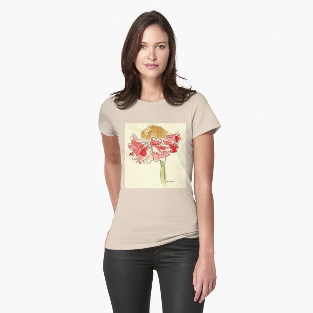 Dahlia  Womens T-Shirt Front