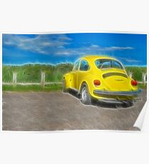 Bright Beetle Poster