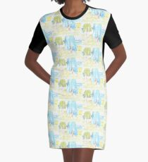 A Little Sister Time Graphic T-Shirt Dress