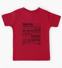 Oasis Songs  Kids Clothes