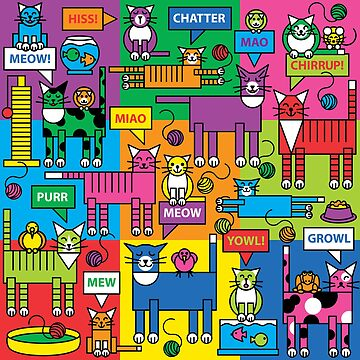 Colorful Cats and Critters by Lisann