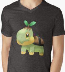 Turtwig Men's V-Neck T-Shirt