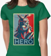 My Hero Academia - HERO!! Womens Fitted T-Shirt