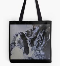 Ollie and Bella the posing duo Tote Bag