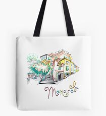 Colorful houses in Manarola, Ligury, Italy Tote Bag