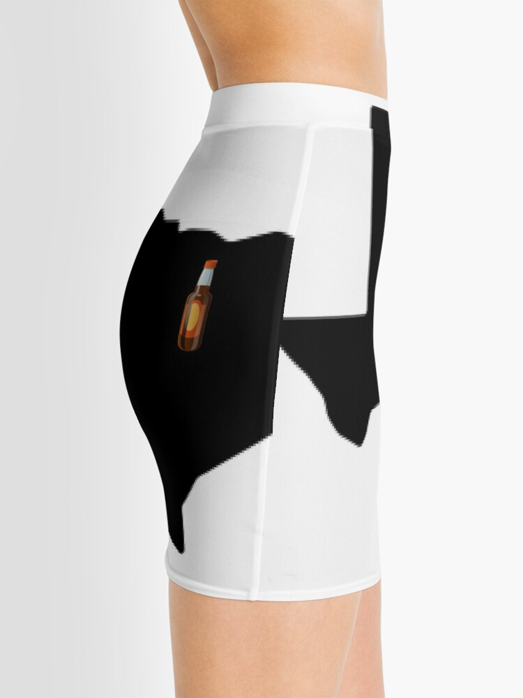 Alternate view of Dallas Texas Beer Mini Skirt