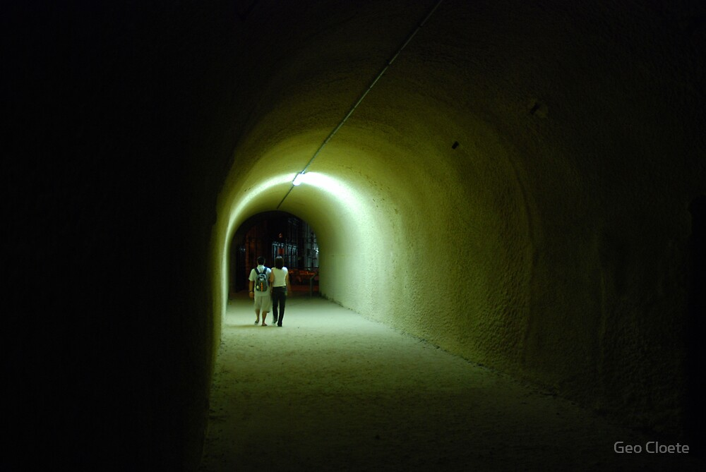 Towards the Light by Geo Cloete