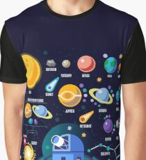 Space Universe Solar Big Bang Graphic T-Shirt