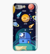 Space Universe Solar Big Bang iPhone Case/Skin
