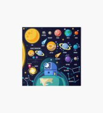 Space Universe Solar Big Bang Art Board