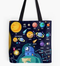 Space Universe Solar Big Bang Tote Bag