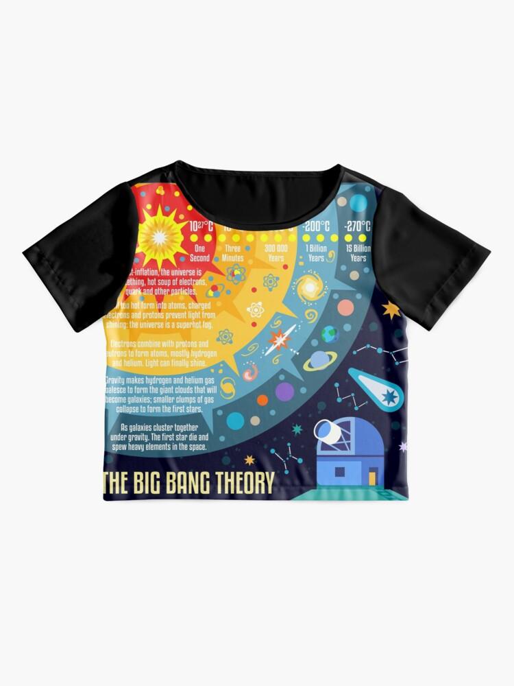 Alternative Ansicht von Urknalltheorie Universum Raum Chiffon Top