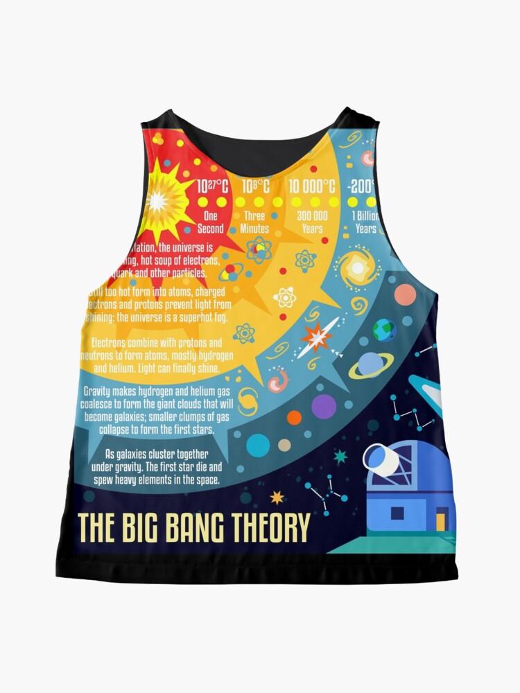 Alternative Ansicht von Urknalltheorie Universum Raum Ärmelloses Top