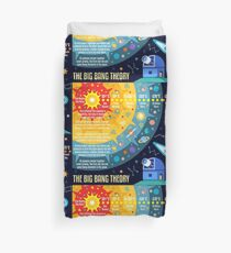 Big Bang Theory Universe Space Duvet Cover