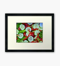 Healthy Food Framed Print