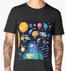 Space Universe Solar Big Bang Men's Premium T-Shirt