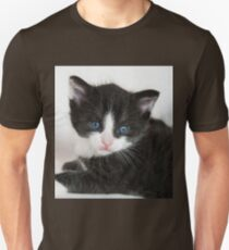 An Adorable Cute Kitten With Blue Eyes T-Shirt