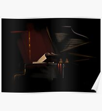 LiveWyre Piano Poster