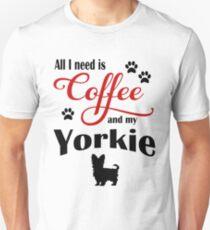 Coffee and My Yorkie T-Shirt