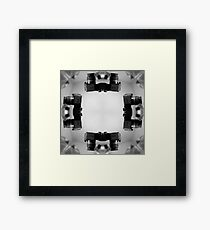 Kaleidoscopic Camera Print  Framed Print