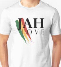 Jah Liebe (SCHWARZ) Unisex T-Shirt