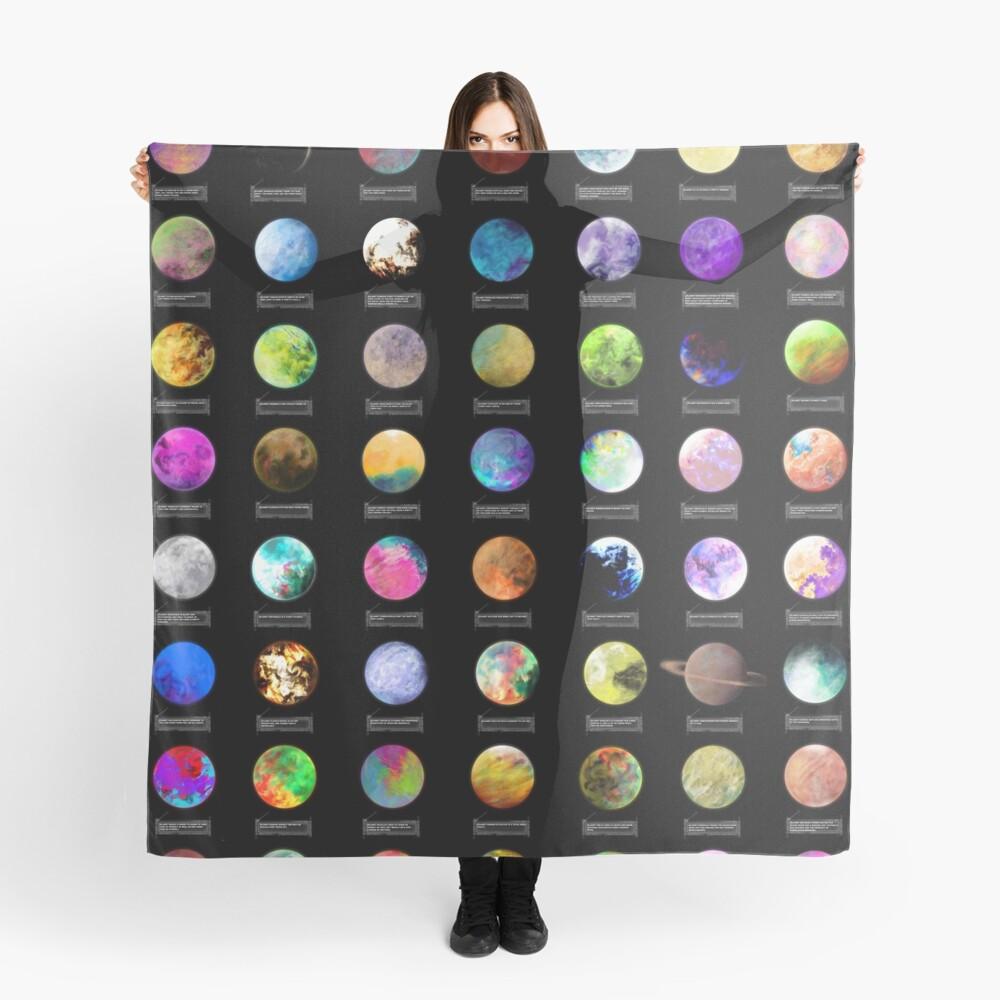 Einsame Planeten Tuch