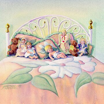 ANGEL on my BED by SHARON SHARPE by sharonsharpe