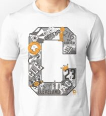 """Cleveland Themed Letter """"C"""" T-Shirt"""
