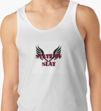 State Of Slay Square Logo Tank Top