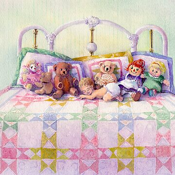KEEPSAKES on my BED by SHARON SHARPE by sharonsharpe