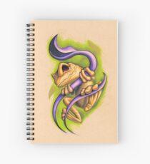 Froggie Spiral Notebook