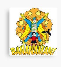 bananaman Canvas Print