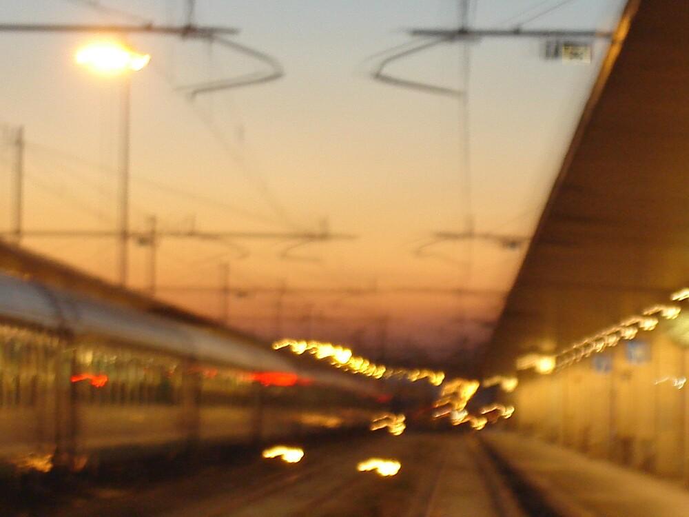 Venice train station by Ammaarah